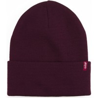 Clothes accessories Hats / Beanies / Bobble hats Levi's Slouchy Red Tab Beanie - Dark Bordeaux Red
