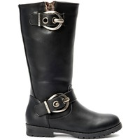 Shoes Women High boots La Vitrine De La Mode Les P'tites Bombes  Botte 4-Gaelle Noir Black