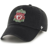 Clothes accessories Men Caps 47 Brand EPL Liverpool FC Clean Up Cap - Black Black