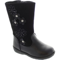 Shoes Girl High boots Chatterbox Fleur Black