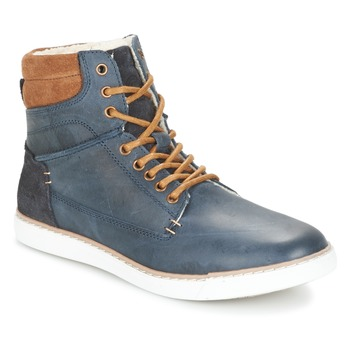 Shoes Boy Hi top trainers Bullboxer  Blue / CAMEL