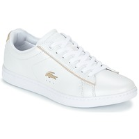 Shoes Women Low top trainers Lacoste CARNABY EVO 118 6 White