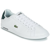 Shoes Men Low top trainers Lacoste GRADUATE LCR3 118 1 White / Green