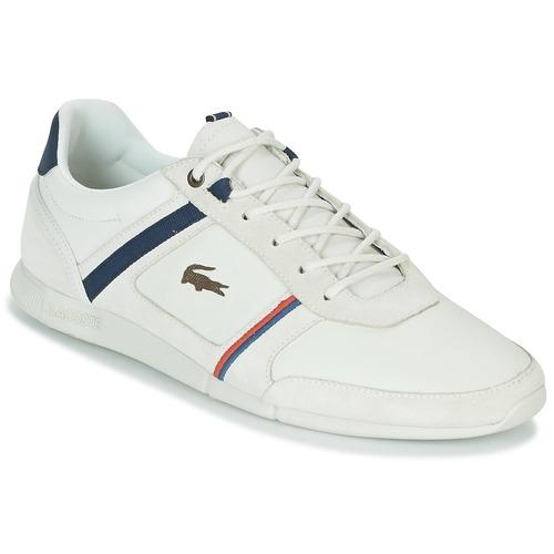 Shoes Men Low top trainers Lacoste MENERVA 118 1 White