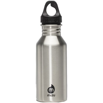 Shoe accessories Sports accessories Mizu M4 400ml Stainless Steel Bottle - Stainless Steel Silver