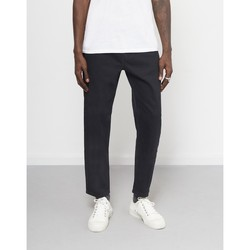 Clothing Men straight jeans The Idle Man Dad Jeans Black
