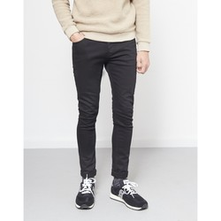 Clothing Men chinos The Idle Man Stretch Skinny Fit Jeans Black black