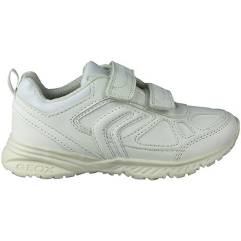 Shoes Children Low top trainers Geox BERNIE G DEPORTIVA WHITE
