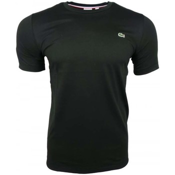Clothing Men short-sleeved t-shirts Lacoste L!ve SS Classic Lacoste Tee black