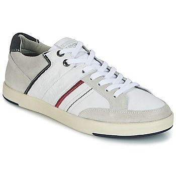 Shoes Men Low top trainers Levi's BEYERS White