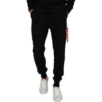 Clothing Men Tracksuit bottoms Alpha Men's X-Fit Slim Cargo Joggers, Black black