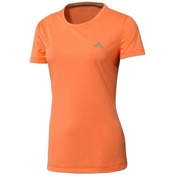 Clothing Women short-sleeved t-shirts adidas Originals Tshirt Prime Orange