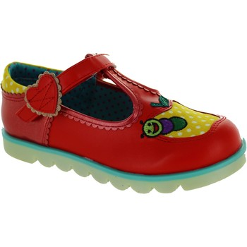 Shoes Girl Flat shoes Irregular Choice Apple Of My Eye Red