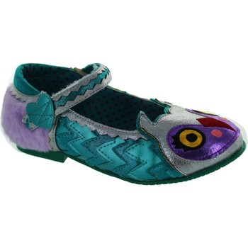 Shoes Girl Flat shoes Irregular Choice Mini Harrold Silver/Blue/Lilac