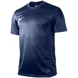 Clothing Men short-sleeved t-shirts Nike Park V Game Jersey Navy blue