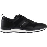 Shoes Men Low top trainers Tommy Hilfiger Maxwell Black Black