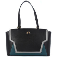 Bags Women Shopping Bags / Baskets La Martina PORTENA  BLACK GREEN    223,1