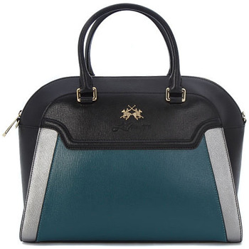 Bags Women Messenger bags La Martina PORTENA  BLACK GREEN    226,6