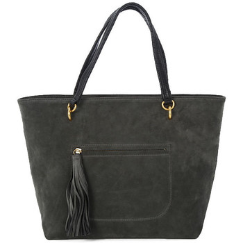 Bags Women Shopping Bags / Baskets Coccinelle DOUBLE ASPHALT Grigio
