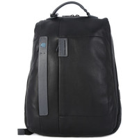 Bags Men Rucksacks Piquadro ZAINO BLACK Nero