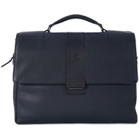 Bags Men Handbags Piquadro CARTELLA PORTA PC CON PATTA Blu
