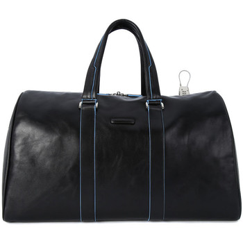 Bags Men Luggage Piquadro BORSONE WEEKEND PICCOLO Nero
