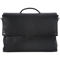 Bags Men Handbags Piquadro CARTELLA PORTA PC Nero