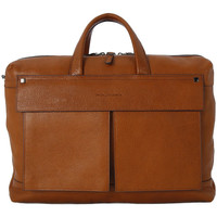 Bags Men Computer bags Piquadro BORSA PORTA PC DUE MANICI Marrone