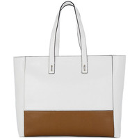 Bags Women Shopping Bags / Baskets Coccinelle SAFFIANO WHITE Multicolore