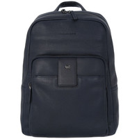 Bags Men Rucksacks Piquadro ZAINO PORTA PC E IPAD Blu