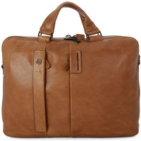 Bags Men Handbags Piquadro CARTELLA DUE MANICI Marrone