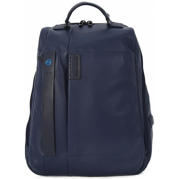 Bags Men Rucksacks Piquadro ZAINO BLACK Blu