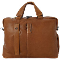 Bags Men Handbags Piquadro CARTELLA 2 MANICI Marrone