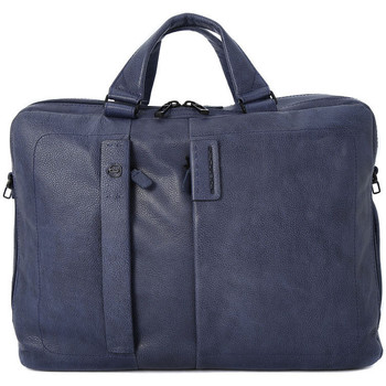 Bags Men Handbags Piquadro CARTELLA DUE MANICI Blu