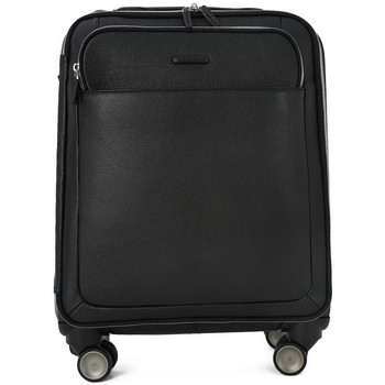 Bags Men Soft Suitcases Piquadro TROLLEY CABINA Nero