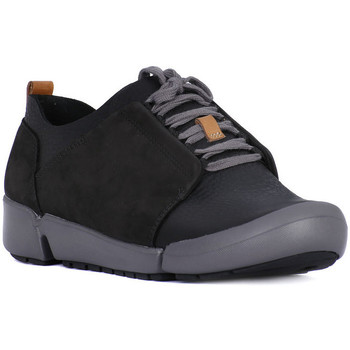Shoes Women Low top trainers Clarks TRI BELLA Nero