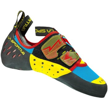 Shoes Women Low top trainers La Sportiva Oxygym Turquoise-Black-Yellow