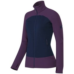 Clothing Women Fleeces Mammut Aconcagua Womens Navy blue-Violet