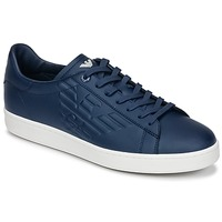 Shoes Men Low top trainers Emporio Armani EA7 CLASSIC U Blue