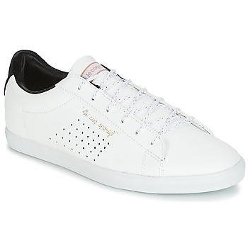 Shoes Women Low top trainers Le Coq Sportif AGATE LO S LEA/SATIN White