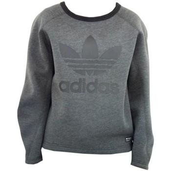 Clothing Women jumpers adidas Originals Originals Bonded Crew Sweatshirt Graphite