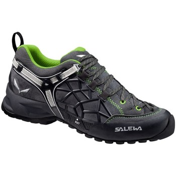 Shoes Men Walking shoes Salewa Wildfire Pro Unisex Black-Green-Grey