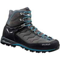 Shoes Women Walking shoes Salewa Mtn Trainer Mid Leather Womens Grey-Graphite