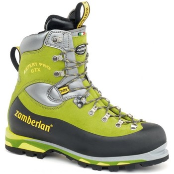 Shoes Men Walking shoes Zamberlan Expert Pro Gtx Black-Green-Silver