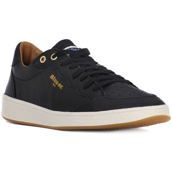 Shoes Men Low top trainers Blauer MURRAY BLACK Nero