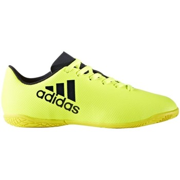 Shoes Children Low top trainers adidas Originals X 174 IN J Yellow