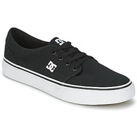 Shoes Men Skate shoes DC Shoes TRASE Black / White