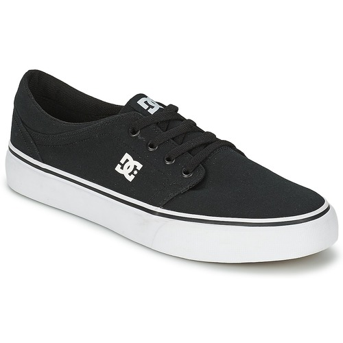Shoes Men Low top trainers DC Shoes TRASE Black / White
