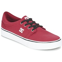 Shoes Men Low top trainers DC Shoes TRASE Red / Black