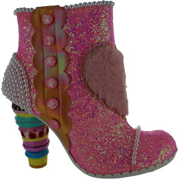 Shoes Women Ankle boots Irregular Choice Bee Delicious Pink